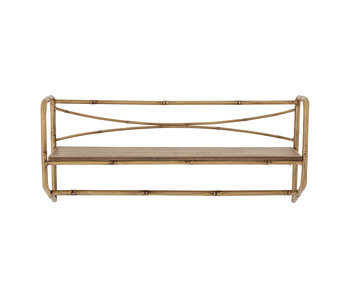 Bloomingville Wall shelf metal - natural