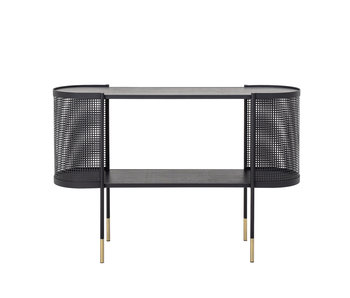 Bloomingville Midou console table metal - black