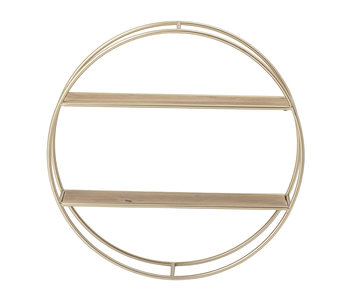 Bloomingville Guil wall rack metal - natural