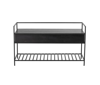 Bloomingville Abelone sofa - black