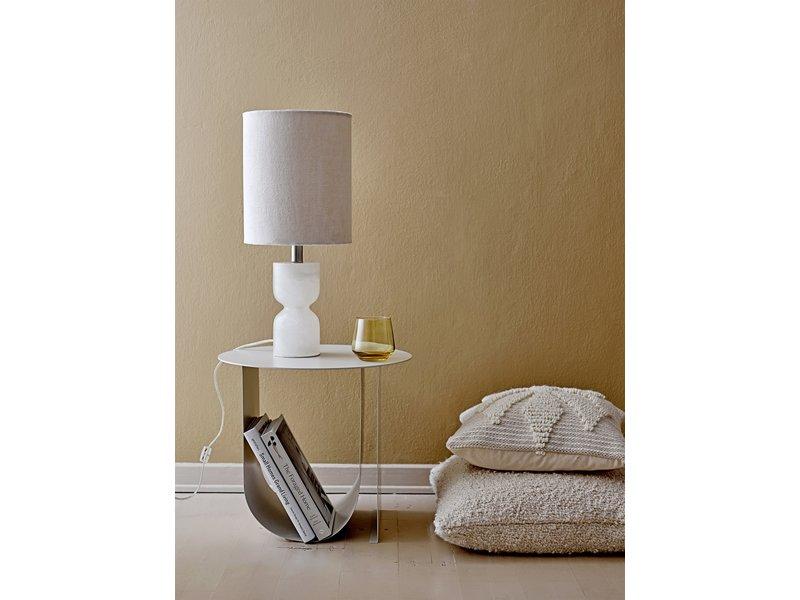Bloomingville Alabaster bordslampa - naturlig
