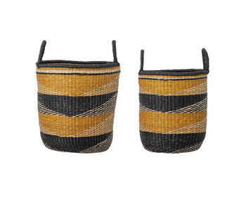 Bloomingville Seagrass basket - set of 2 pieces