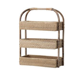 Bloomingville Basket rattan - natural