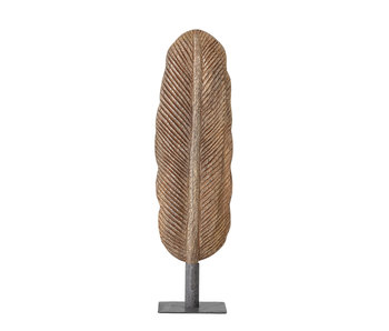 Bloomingville Decoration feather wood - brown
