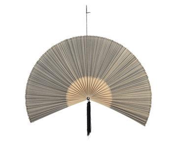 Bloomingville Väggdekoration bambu / bomull - svart