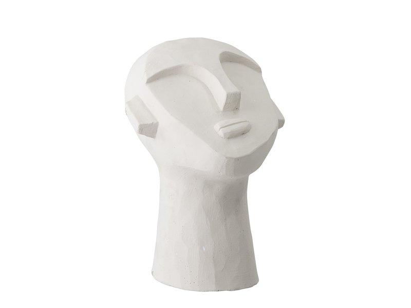 Bloomingville Dekoration Statue Zement - weiß