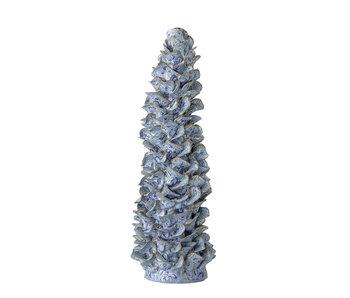 Bloomingville Dekoration Objekt Keramik - blau