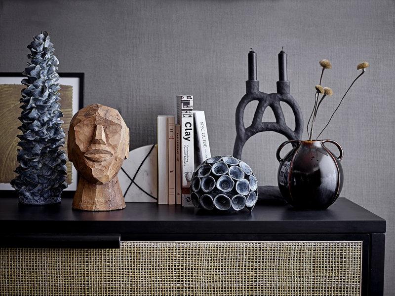 Bloomingville Decoratie object aardewerk - blauw