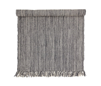 Bloomingville Cotton rug - gray