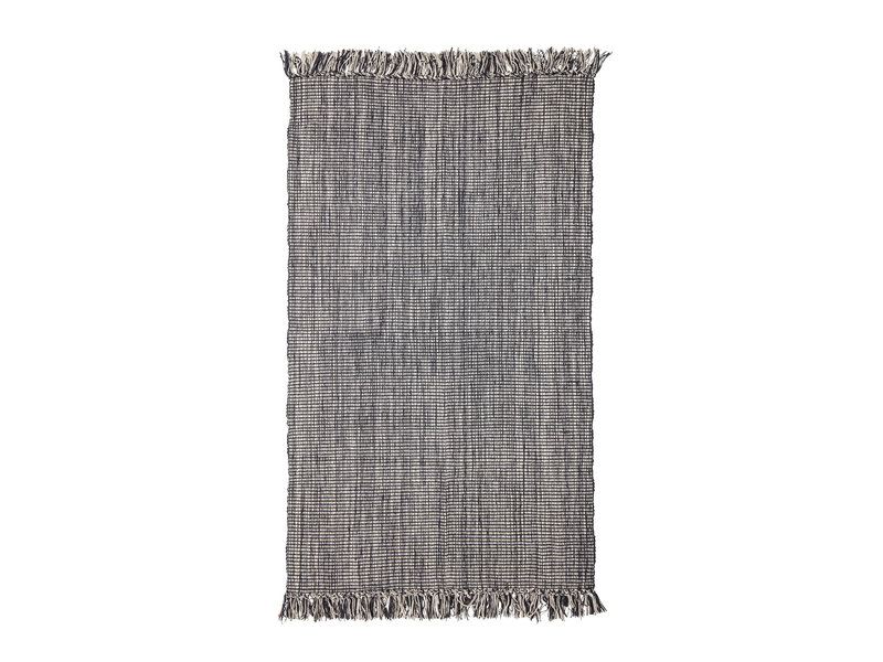 Bloomingville Vloerkleed katoen - grijs
