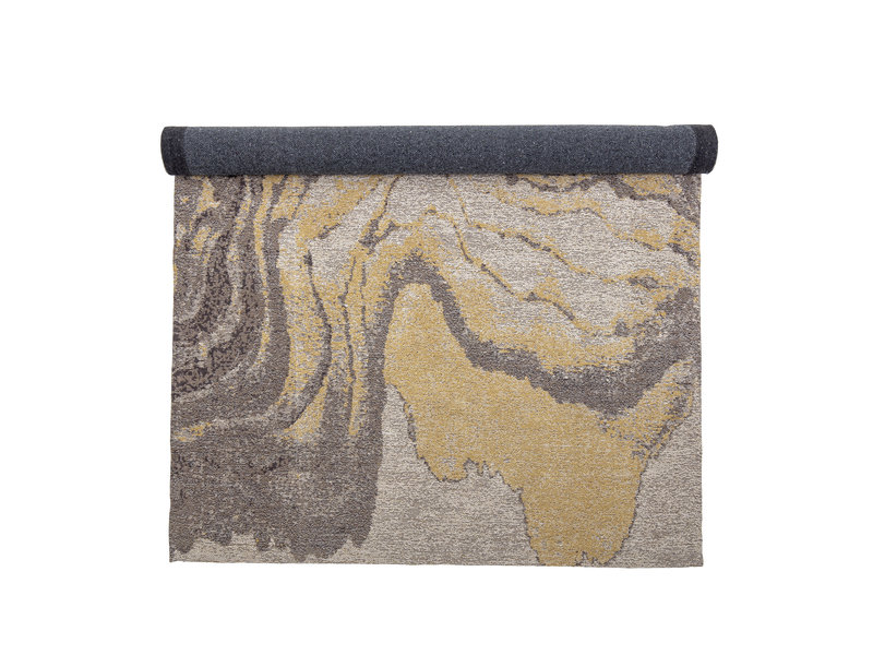 Bloomingville Cotton rug - yellow