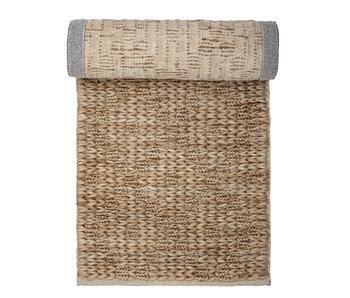 Bloomingville Jute tæppe - naturligt 240x76 cm