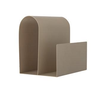 Bloomingville Porte-revues métal - marron