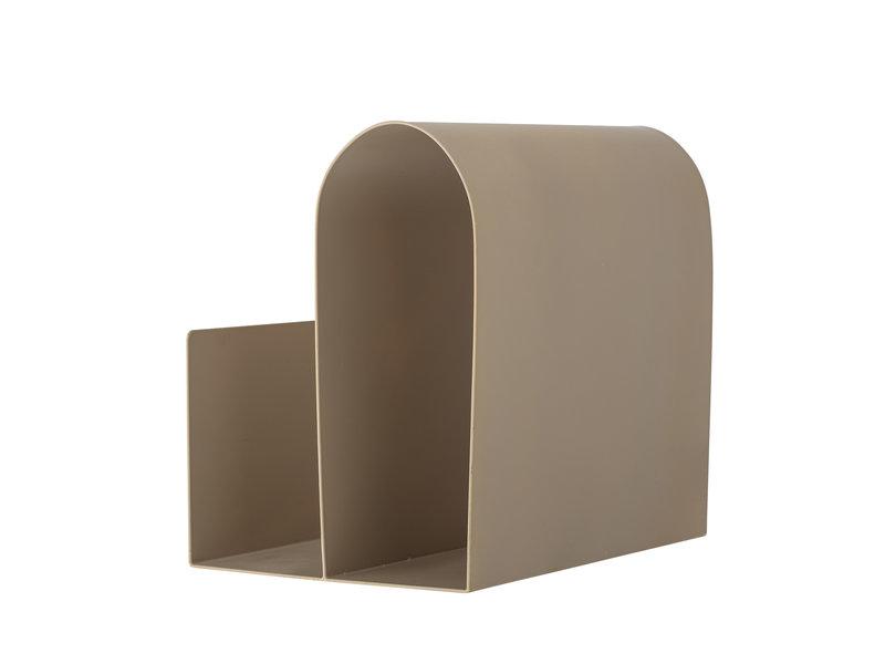 Bloomingville Magasinholder metal - brun