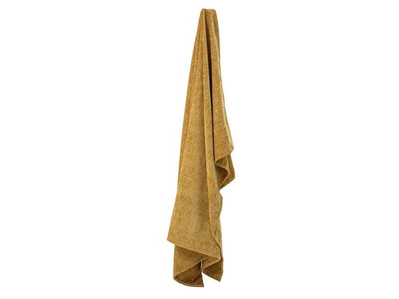 Bloomingville Gelb werfen - 170x140cm