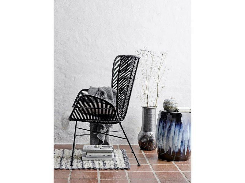 Bloomingville Terracotta vase - black