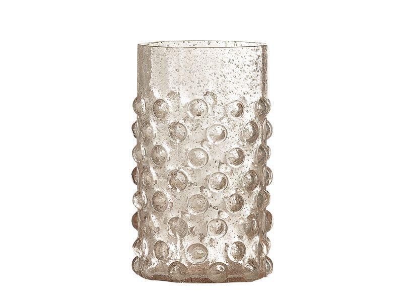 Bloomingville Freja drinking glass pink - set of 6 pieces