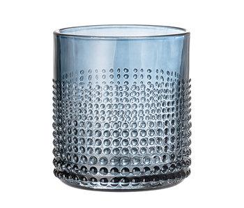 Bloomingville Gro dricka glasblått - uppsättning av 6 stycken