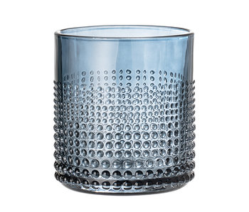 Bloomingville Gro drinkglas blauw - set van 6 stuks