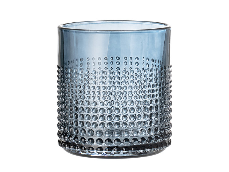 Bloomingville Gro drinking glass blue - set of 6 pieces