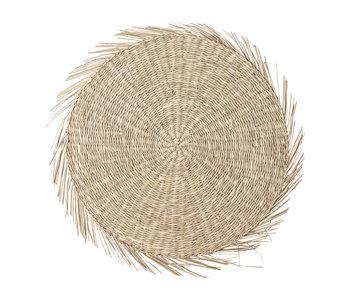 Bloomingville Manteles individuales Seagrass - natural - juego de 6 piezas