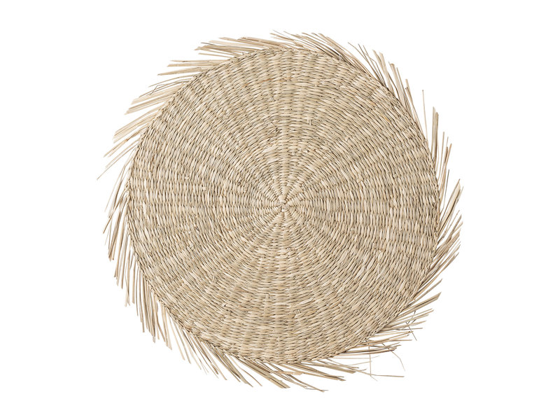 Bloomingville Placemats seagrass - natural - set of 6 pieces