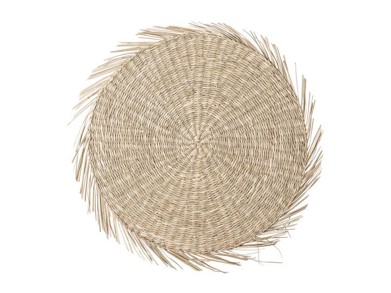 Bloomingville Placemats seagrass - naturlig - sæt med 6 stykker