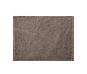 Bloomingville Cotton placemats brown - set of 6 pieces