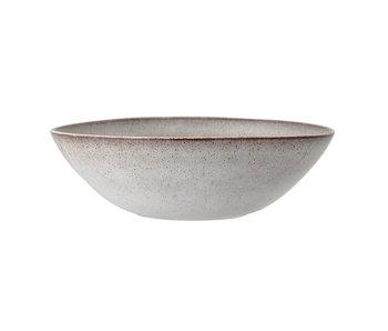 Bloomingville Sandrin serveringsfat grå - Ø32xH10 cm