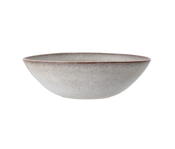 Bloomingville Sandrine serving dish gray - Ø32xH10 cm