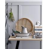 Bloomingville Sandrine serveerschaal grijs- L42,5xH9xW27,5 cm