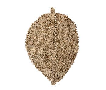 Bloomingville Placemats seagrass natural - sæt med 6 stykker
