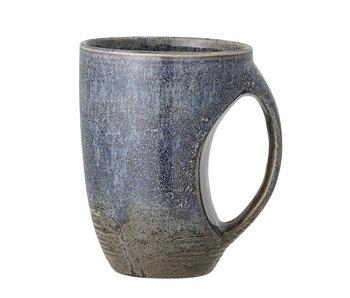 Bloomingville Mug Aura bleu - lot de 6 pièces Ø9.5xH12.5 cm