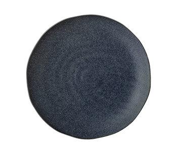 Bloomingville Aura plate blå - sett med 6 stk Ø28,5 cm