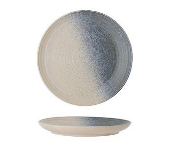 Bloomingville Aura plate flerfarget - sett med 6 stk Ø21 cm