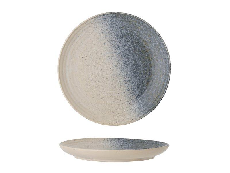 Bloomingville Aura bord multikleur - set van 6 stuks Ø21 cm