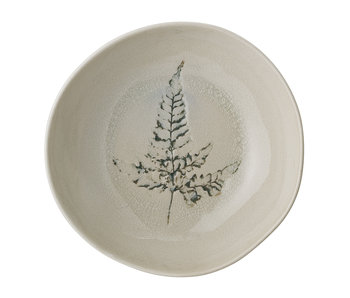 Bloomingville Bea soup plate natural - set of 6 pieces Ø21xH6 cm