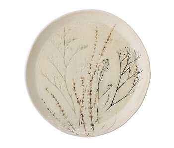 Bloomingville Bea plate natural - set of 6 pieces Ø27.5 cm
