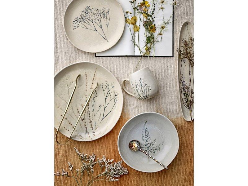 Bloomingville Bea bord naturel - set van 6 stuks Ø27,5 cm