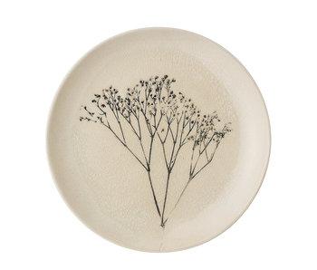 Bloomingville Bea plate natural - set of 6 pieces Ø22 cm