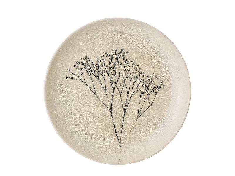 Bloomingville Bea bord naturel - set van 6 stuks Ø22 cm
