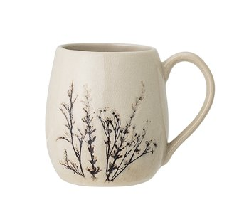 Bloomingville Bea mug natural - 6er Set