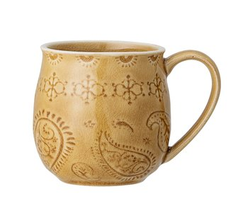 Bloomingville Rani mugs yellow - set of 6 pieces