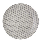 Bloomingville Elsa plate gray - set of 6 pieces Ø25 cm