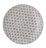 Bloomingville Elsa Platte grau - 6er Set Ø20,5 cm