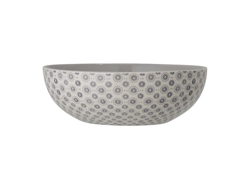 Bloomingville Elsa serving bowl gray