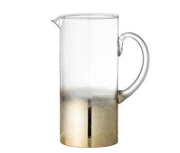 Bloomingville Glas kan - guld