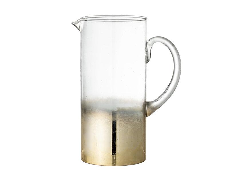 Bloomingville Kan glas - goud
