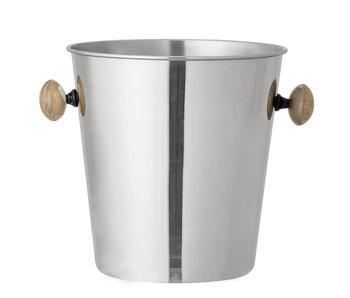 Bloomingville Cocktailweinkühler - Silber