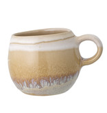 Bloomingville April cup and saucer multicolour - set of 6 pieces